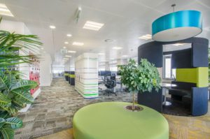 Office interiors fit out slider