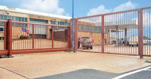 Security perimeter fence, Hendon