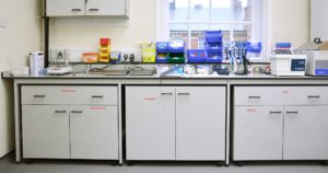 University Science Lab refurbishment