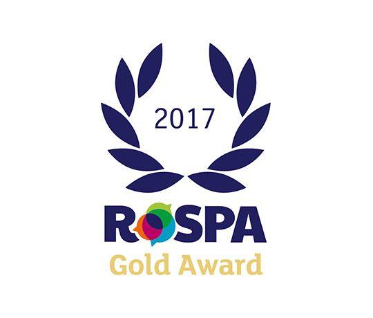 RoSPA Gold Award 2017