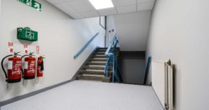 Waiting area and seating of Shepherds Bush police station