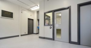 Internal refurbishment and redecoration of a Met Police station