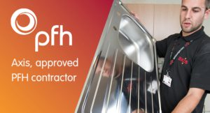 Axis approved contractor on PFH framework