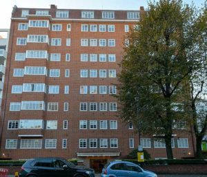Block of apartments in Lancaster Close, Westminster