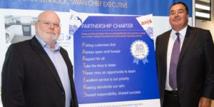 Axis CEO John Hayes and Swan CE