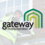 Gateway Housing Association logo and Axis External works