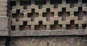 Royal Herbert Pavilions decorative brickwork detail