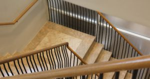 Interior woodwork and railing Mainstay Kings Chelsea