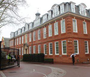 Exterior shot of Kings Chelsea housing estates in London