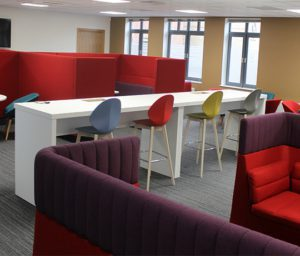 Interior shot of Axis HQ in Tramway House, Stratford