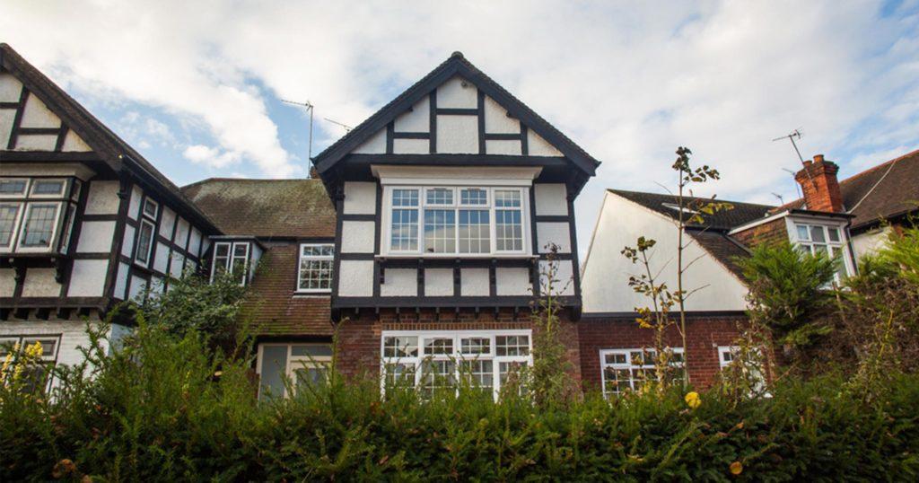 Exterior shot of a Brent Council property