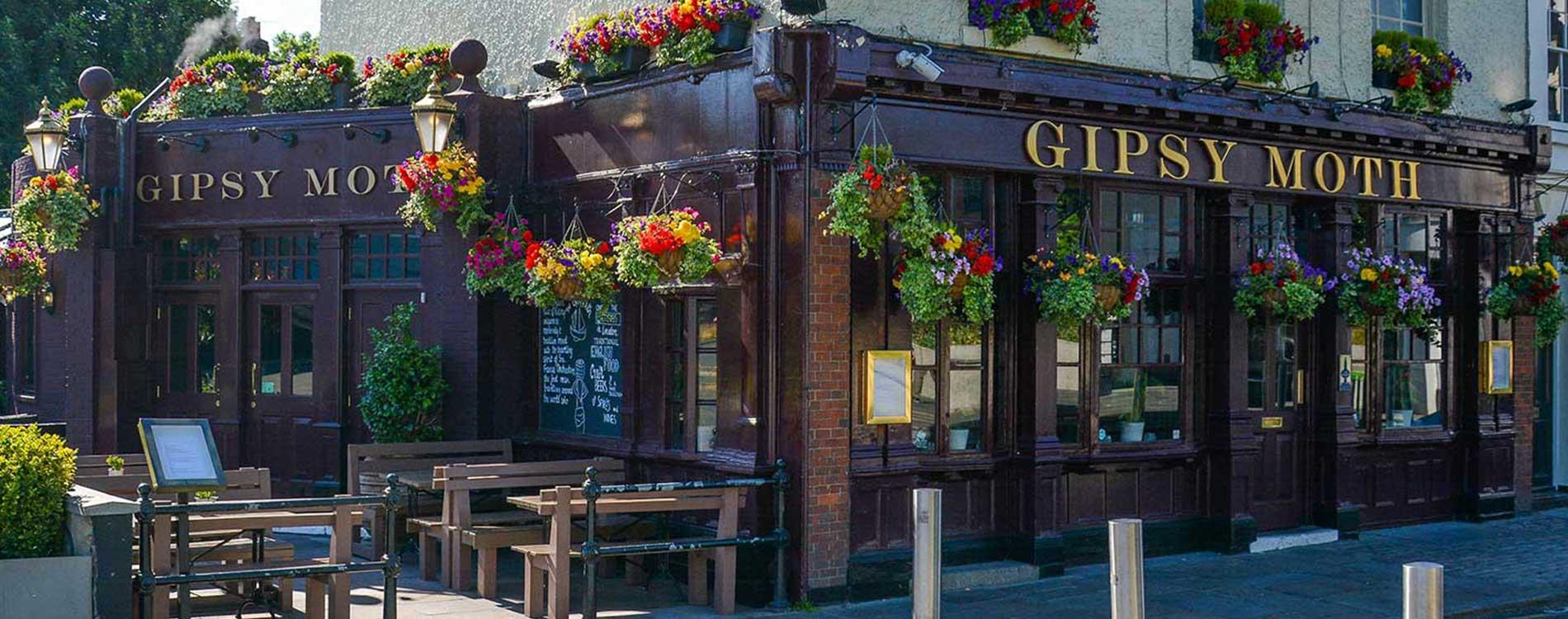 gipsy moth pub in greenwich where axis undertook internal and external refurbishment