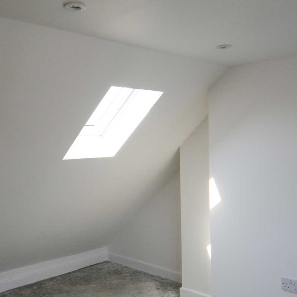 Bright window to allow for more light in a conversion project