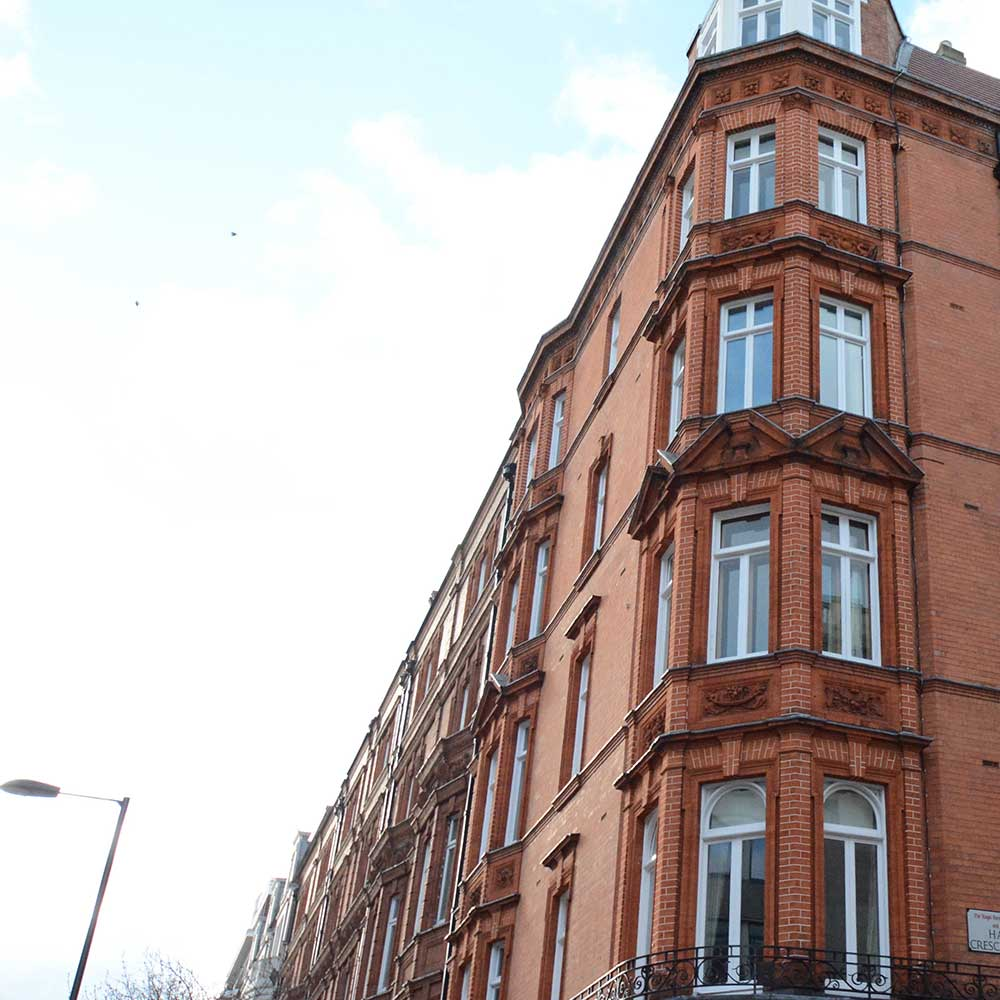 Stylish Victorian property showcasing huge windows and timeless stonework