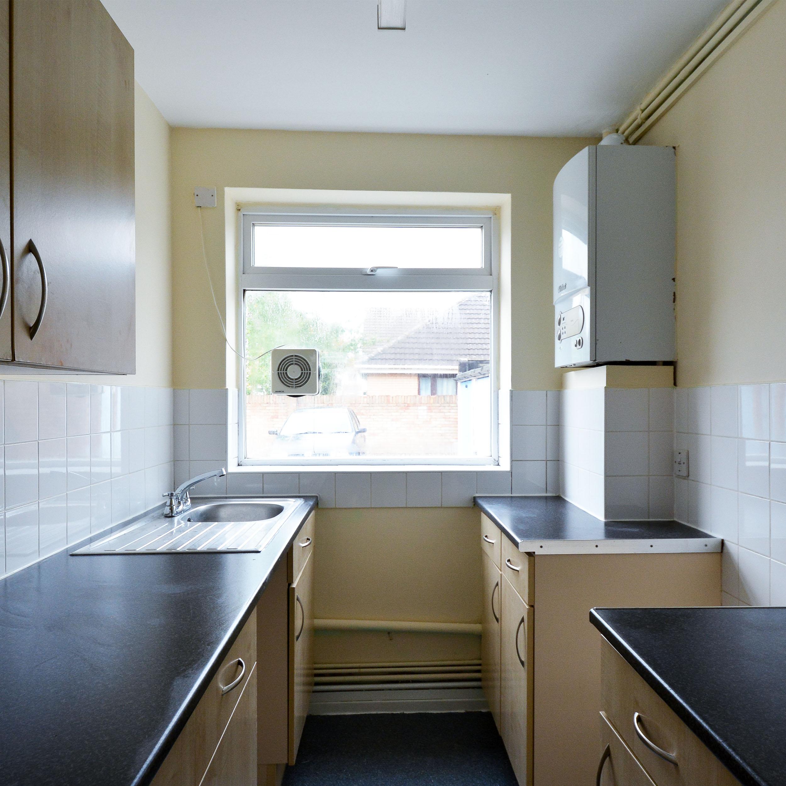 Kitchen in Brent void property