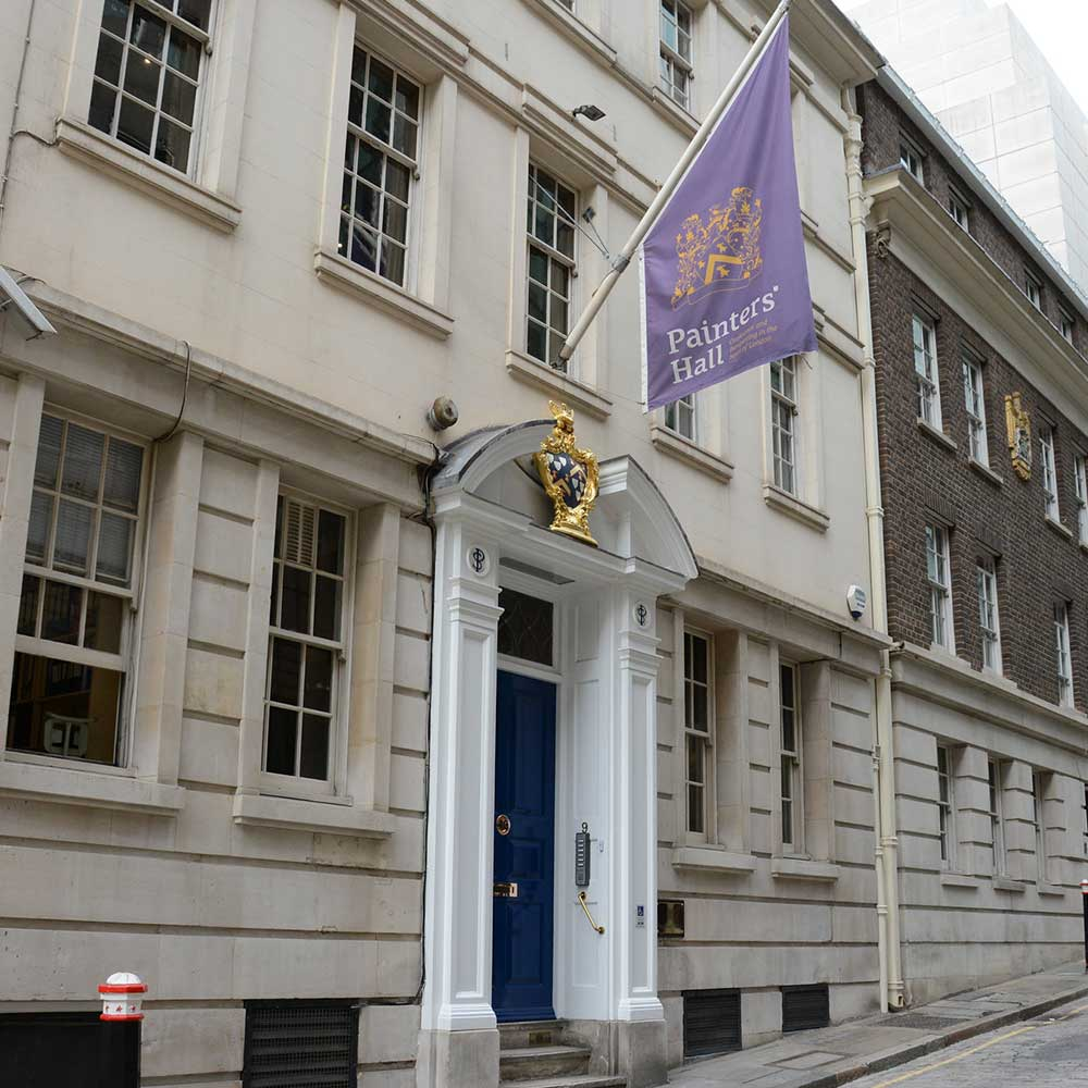 Worshipful company of painter-stainers exterior of building after restoration services