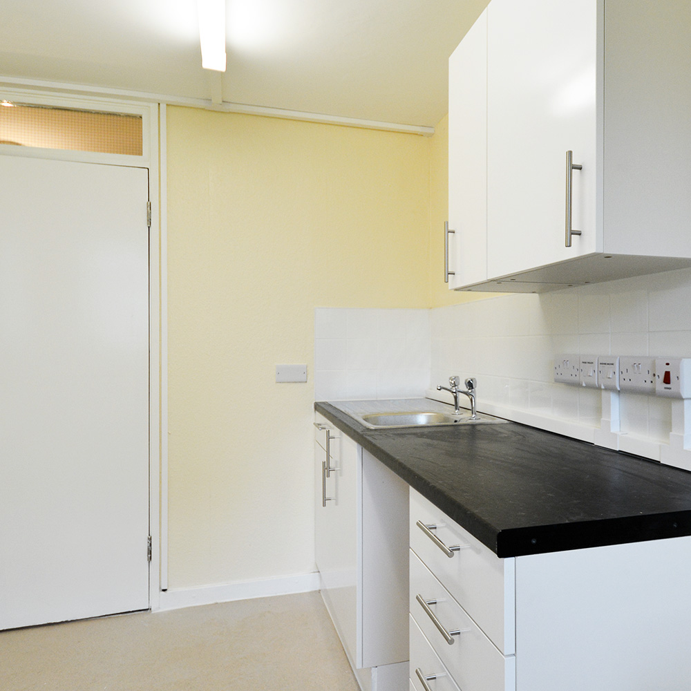 Refurbished kitchen in a Brent council void property