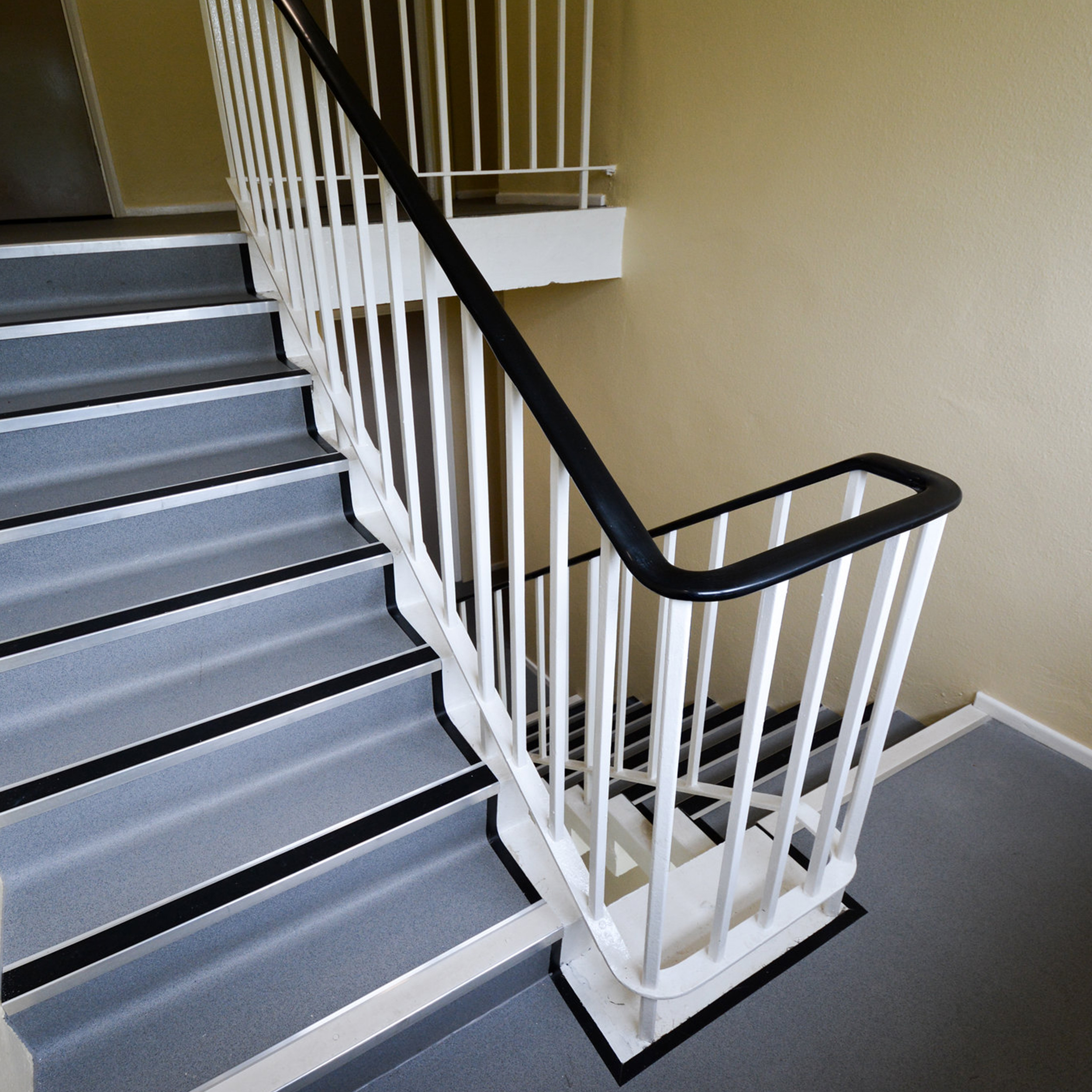 Staircase inside a residential property that is part of a major refurbishment contract
