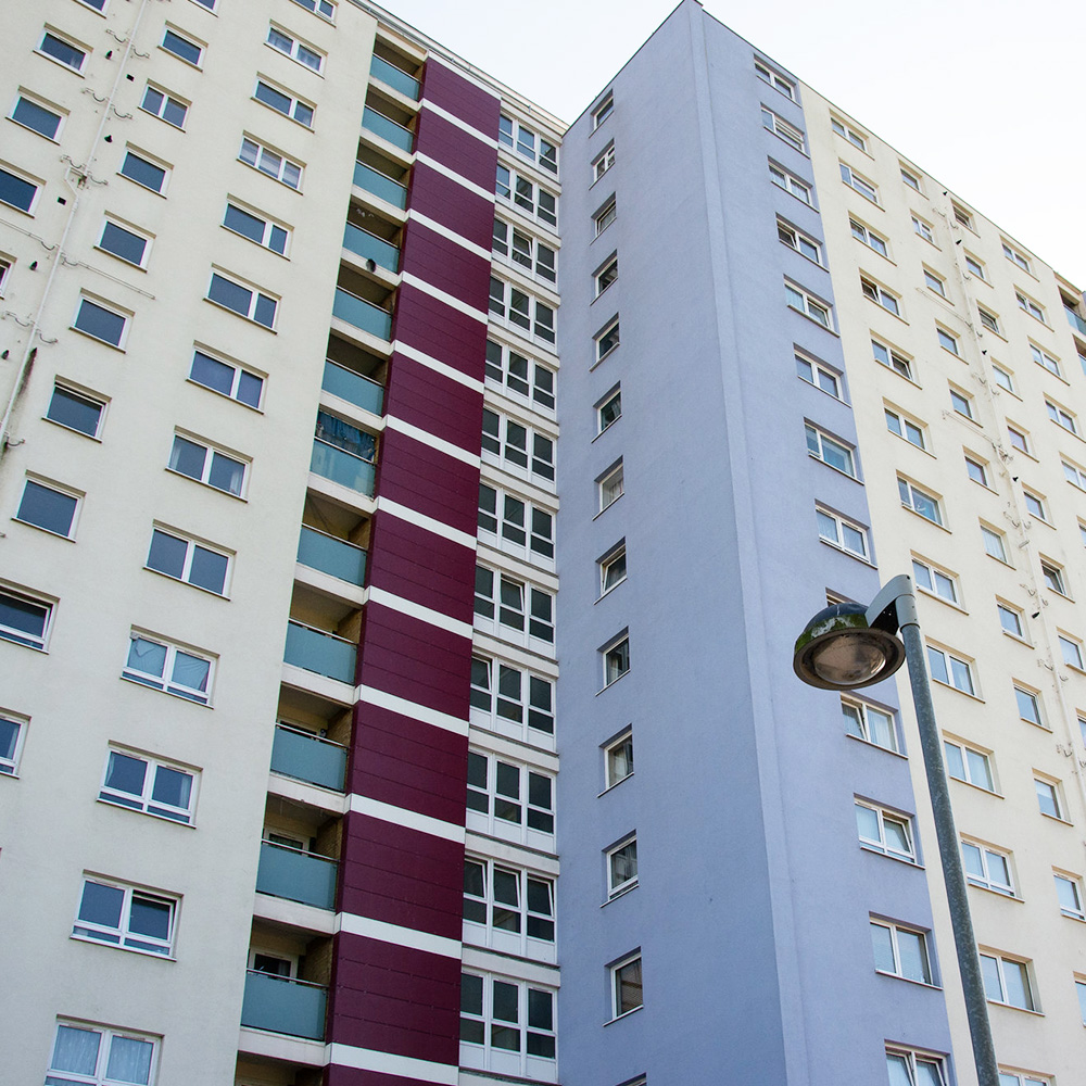 Large residential property in Gosport in need of cladding replacement