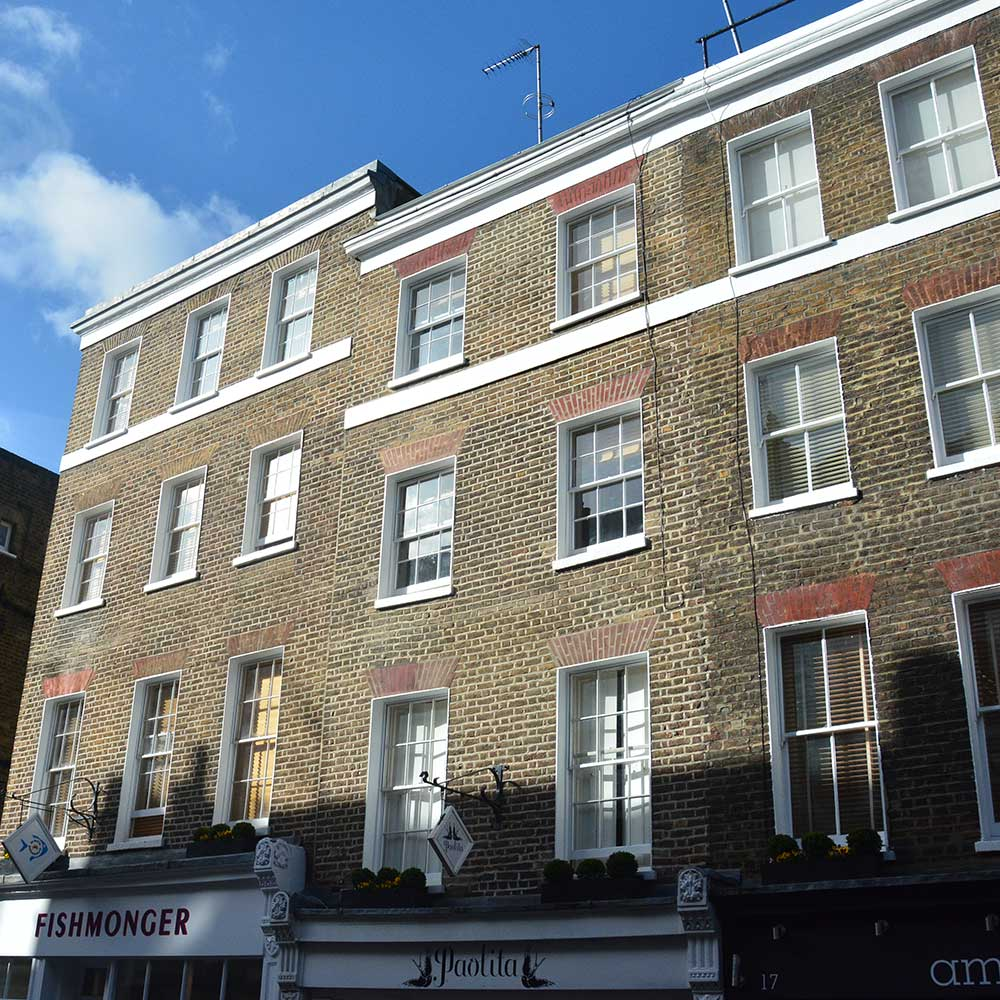 Historical London property