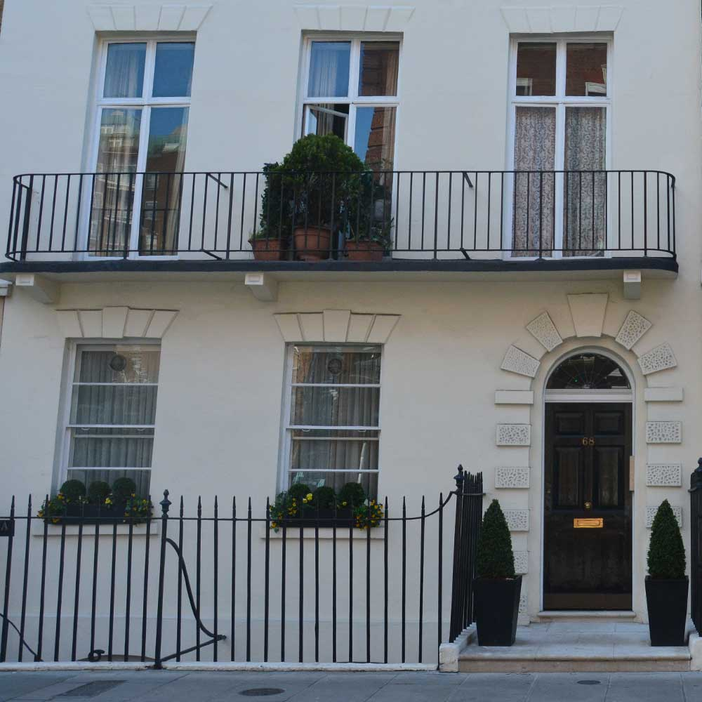 Heritage property in central london