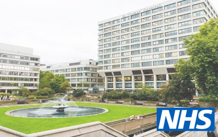NHS hospital that axis have been approved to work on