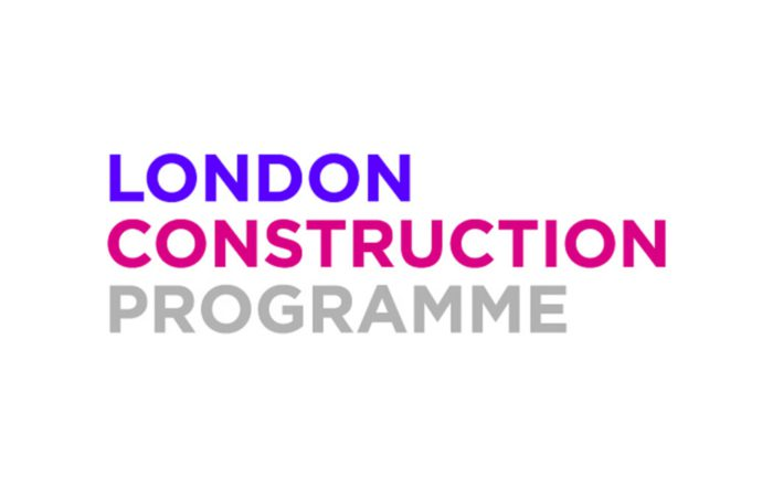 Logo for the London construction programme