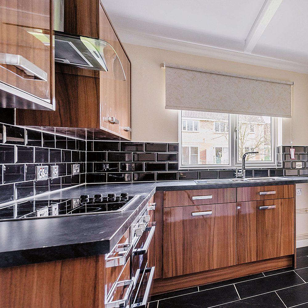 complete refurbishment of a kitchen in Cosford