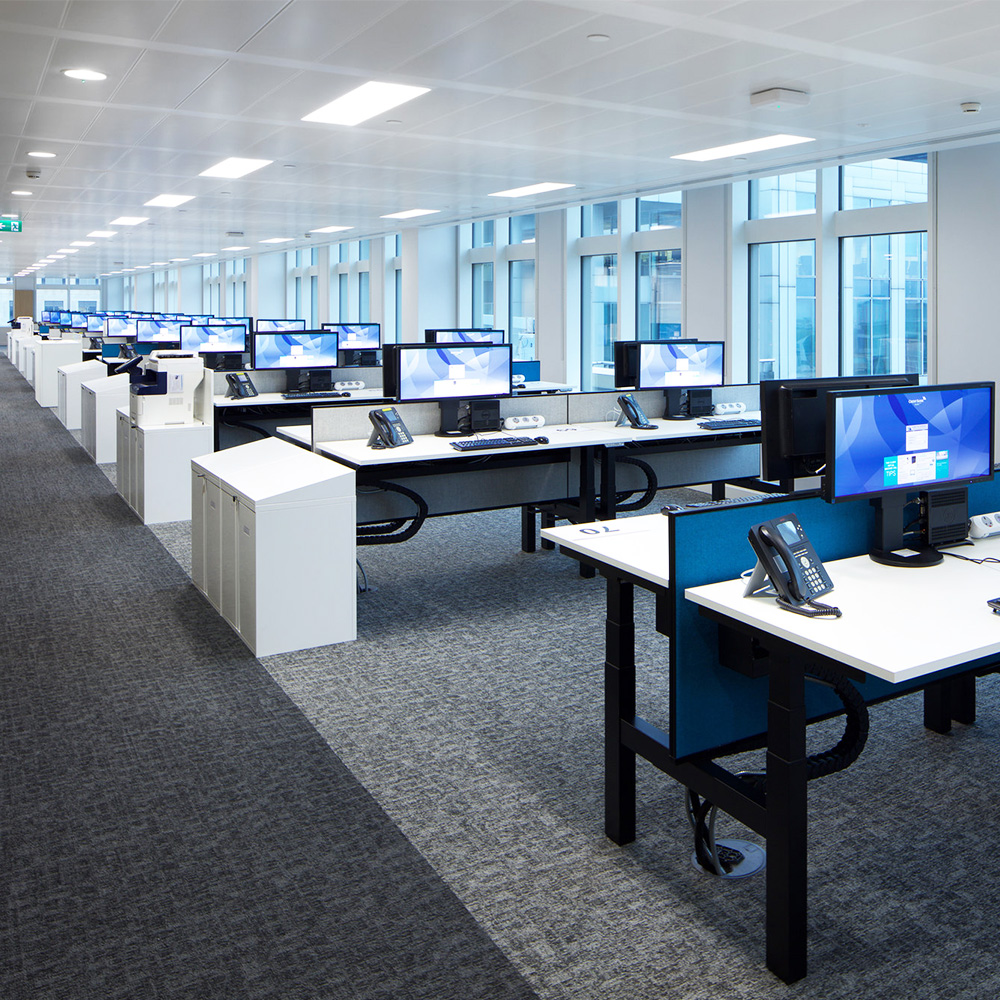 Moves and changes complete in corporate space