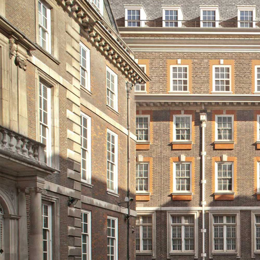 Renewal project on the heritage building at old Scotland yard