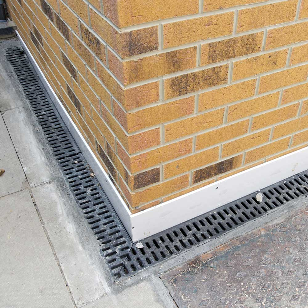Drainage installed to support home extension