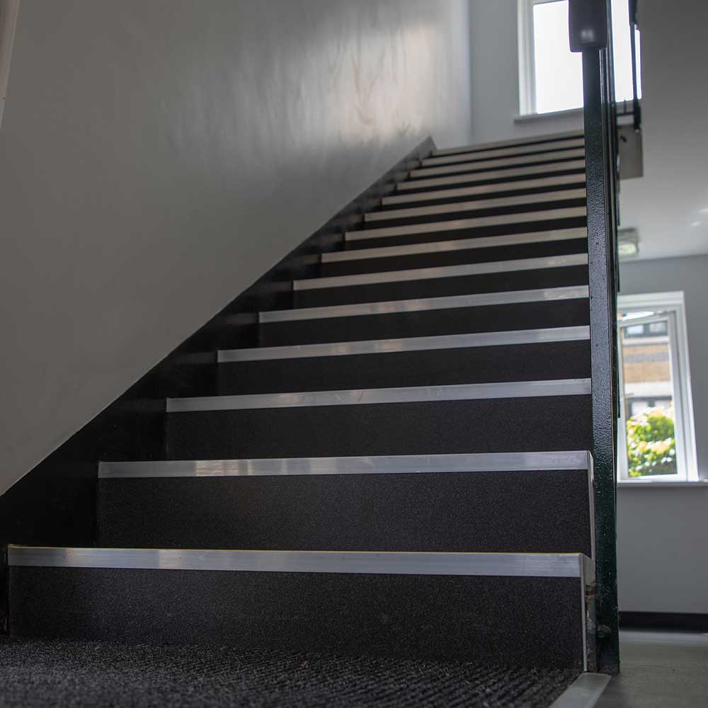 Staircase inside a block of flats