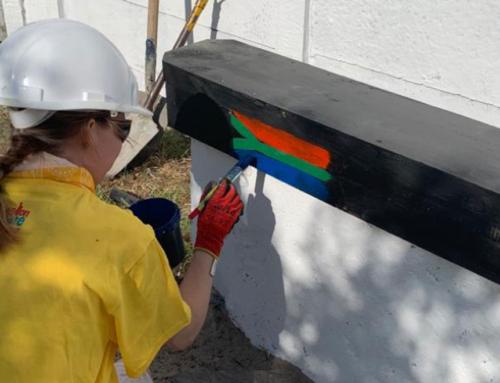 Axis Apprentice Helps Build School In South Africa