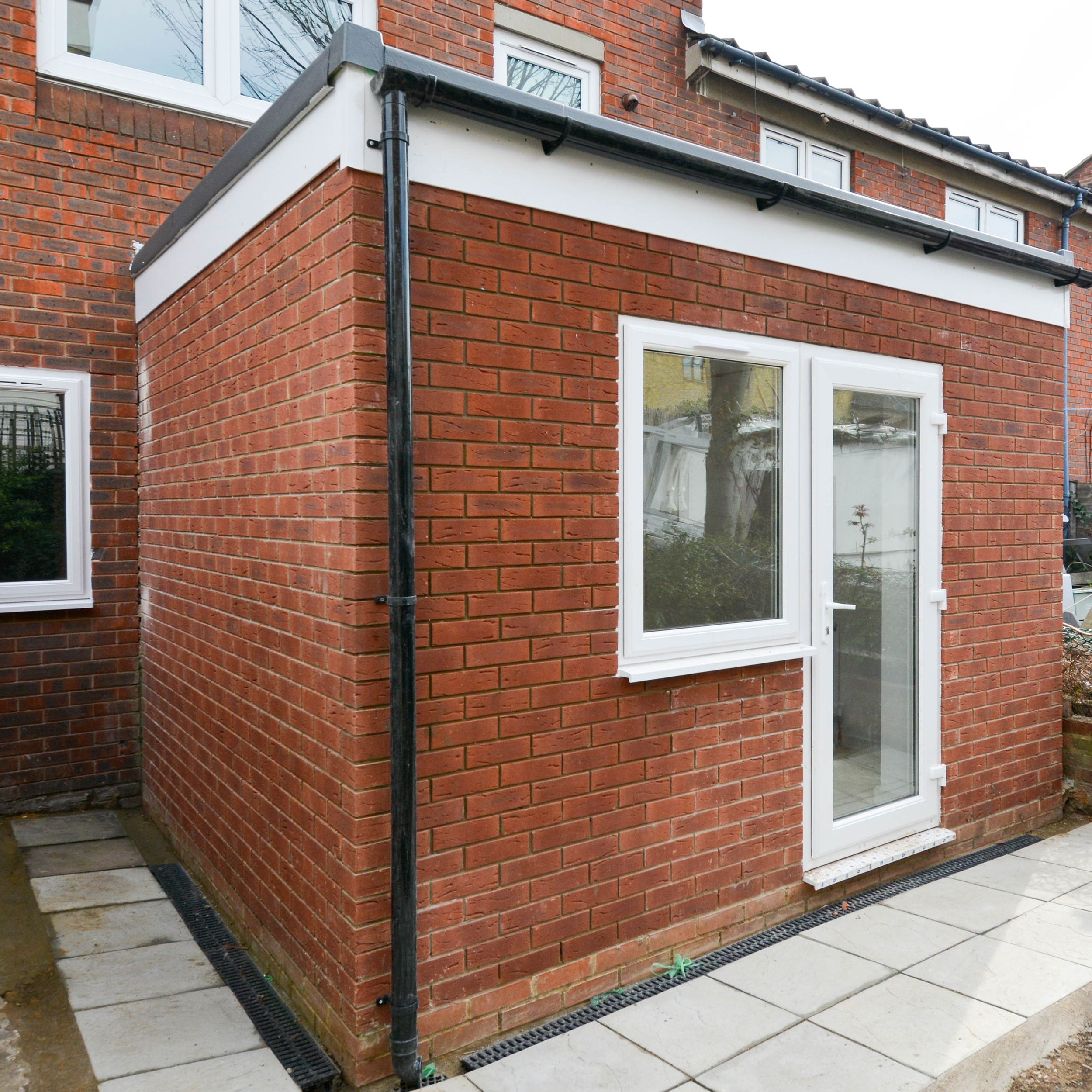 Residential housing property with a bespoke extension