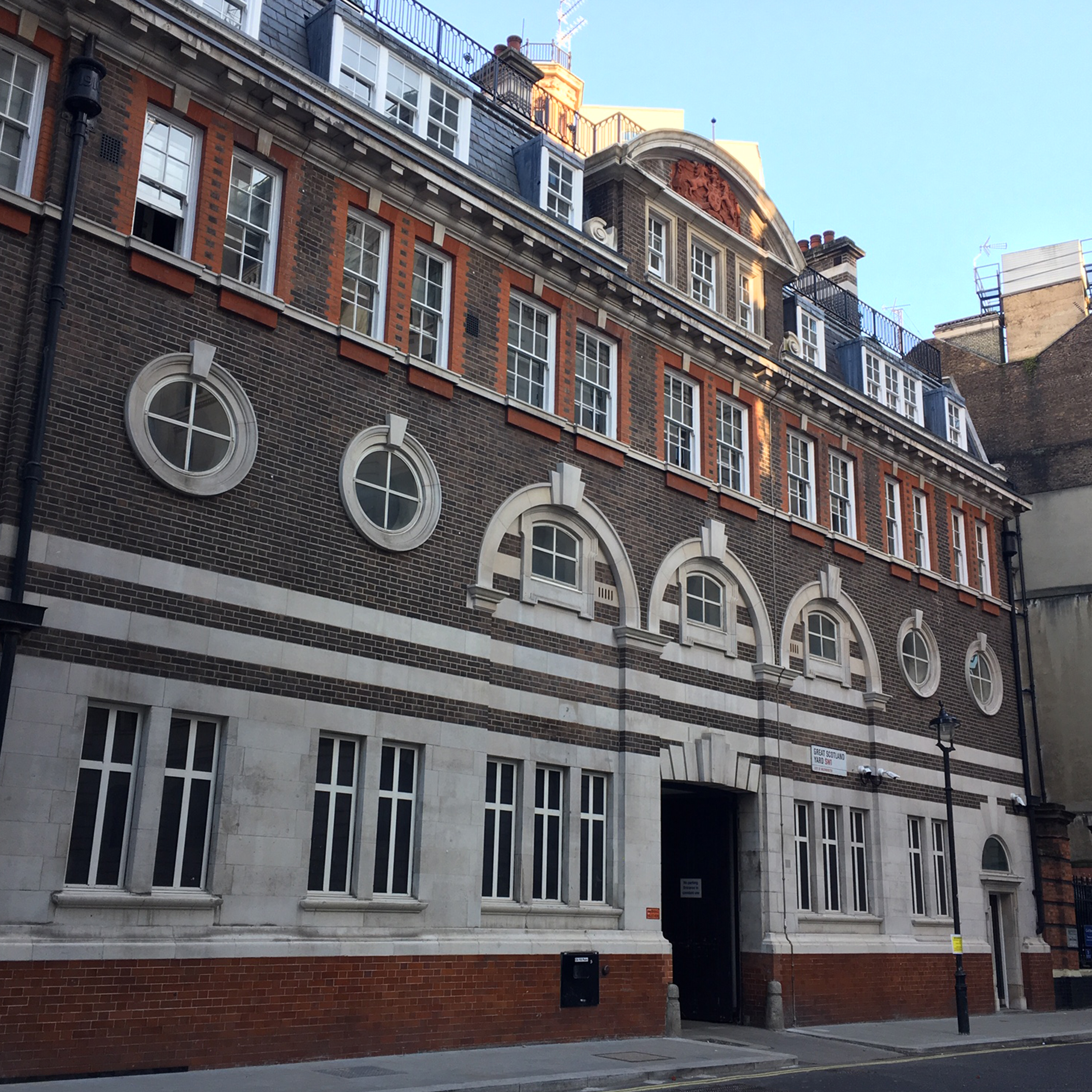 Heritage building in central London after axis carried out refurbishment works