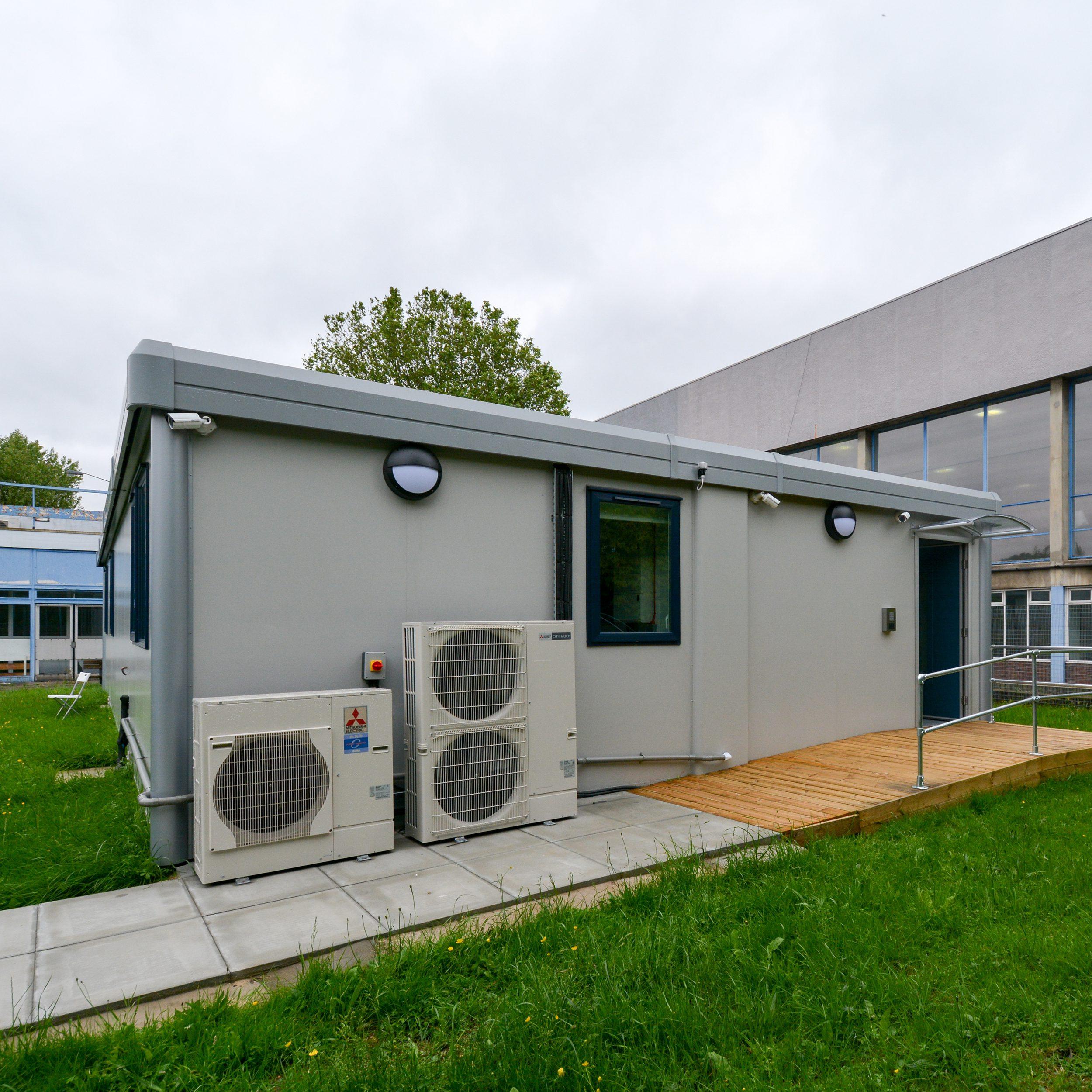Modular police building