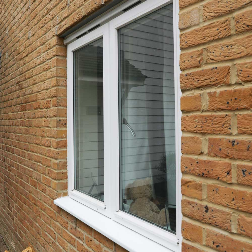Window installed by Axis