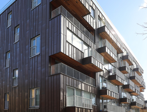 Cladding management contract with Tower Hamlets Community Housing