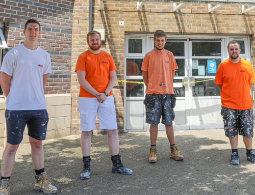 Axis Painting Team Revitalise 2000 Community Action Centre
