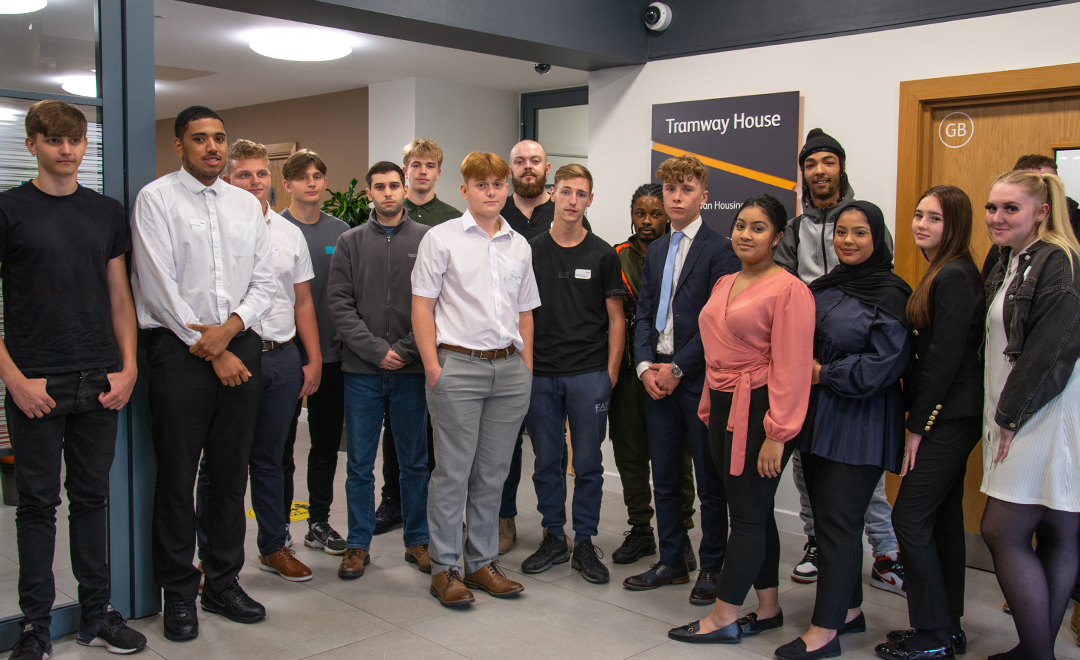 New Apprentices at Axis reception
